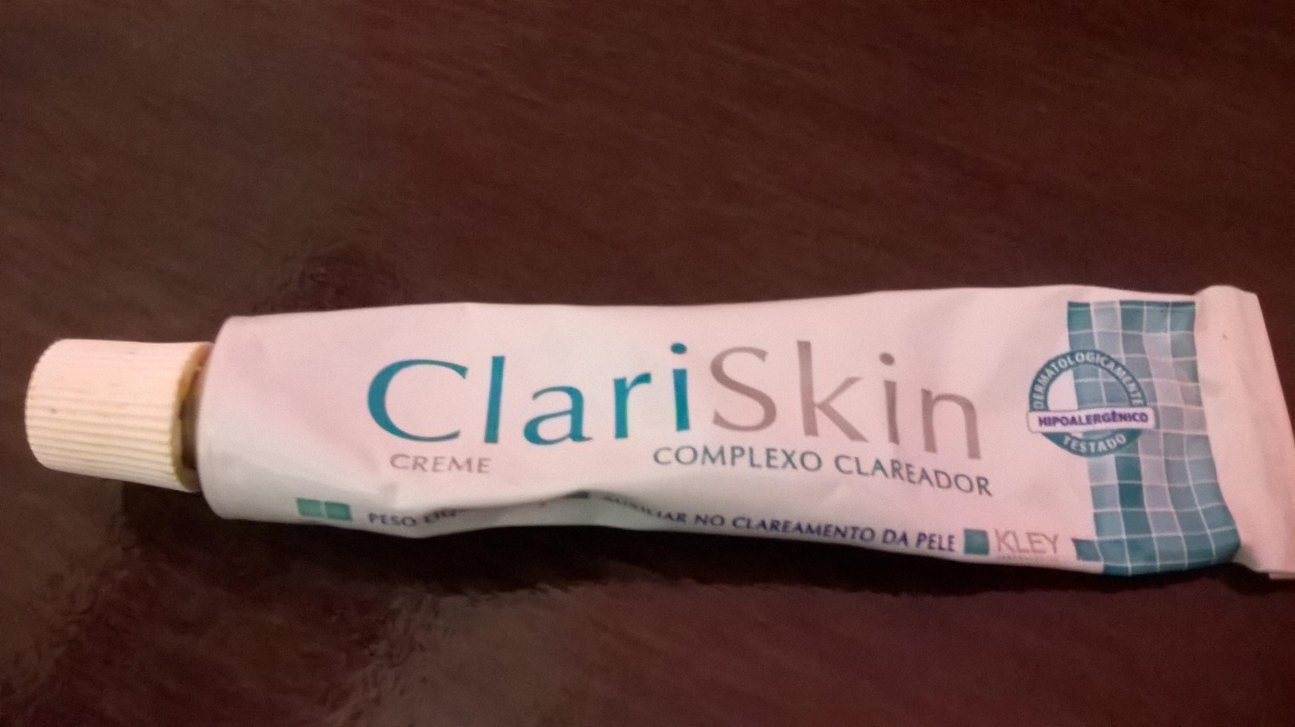 Creme Clareador Clariskin